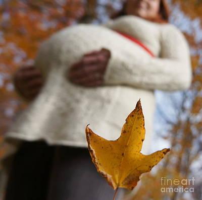 Photograph - Pregnancy by Rachel Munoz Striggow