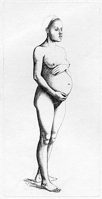 Perez Photograph - Pregnant Woman by Cci Archives