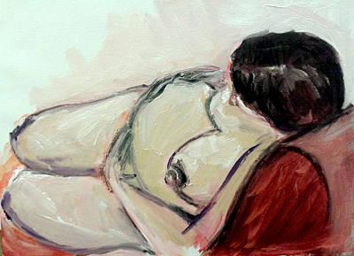 Pregnant01 Art Print by Tali Farchi