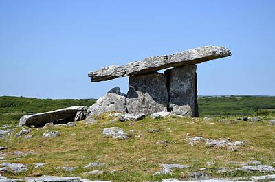 Photograph - Prehistoric Poulnabrone Dolmen by Richard Ortolano