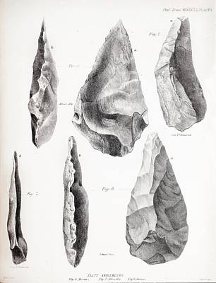 Philosophical Photograph - Prehistoric Stone Tools by Paul D Stewart