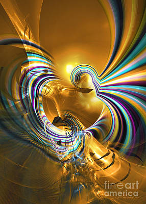 Digital Art - Prelude Of Colors - Surrealism by Sipo Liimatainen
