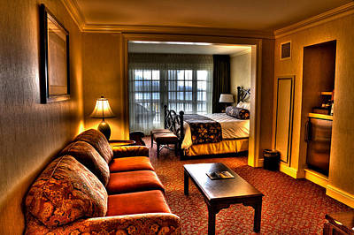 Adirondack Photograph - Premier Balcony Suite At The Sagamore Resort  by David Patterson