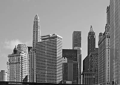 Offices Photograph - Premier Destination Chicago by Christine Till