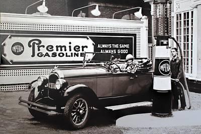Photograph - Premier Gasoline by Carlos Diaz