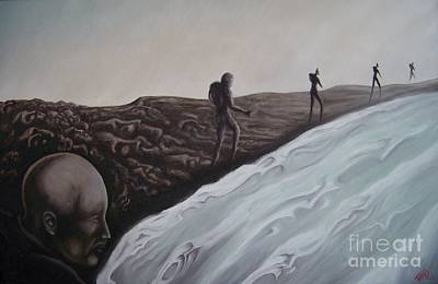 Painting - Premonition by Michael  TMAD Finney
