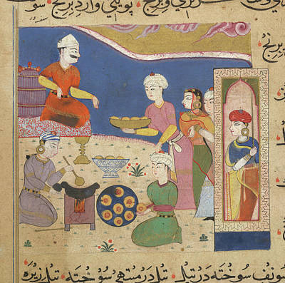Preparation Of Wada Art Print by British Library