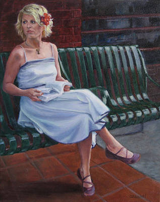 Painting - Prepared To Wait by Connie Schaertl