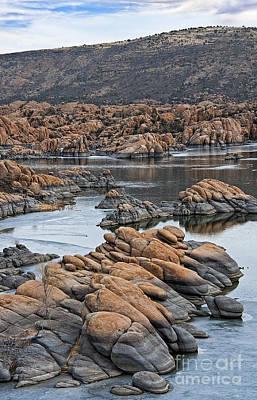 Prescott Arizona Winter Dells II Art Print by Lee Craig