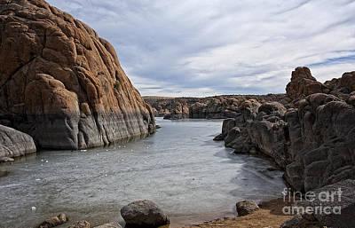 Prescott Photograph - Prescott Arizona Winter Dells IIi by Lee Craig