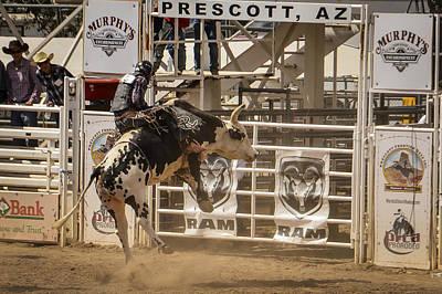 Prescott Photograph - Prescott Az Rodeo by Jon Berghoff