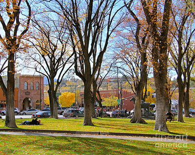 Photograph - Prescott In The Fall by Suzanne Oesterling