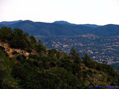 Prescott Mountainsides Art Print