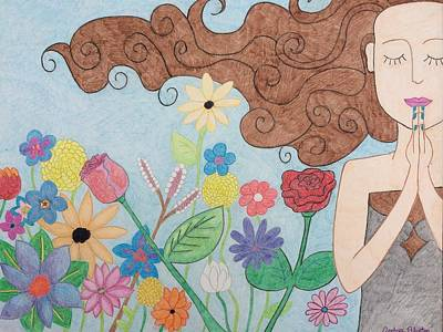 Presence Art Print by Andrea Blanton
