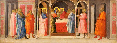 Painting - Presentation Of Christ In The Temple by Giovanni Toscani