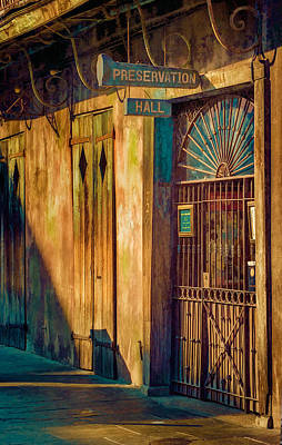 Photograph - Preservation Hall by Brenda Bryant
