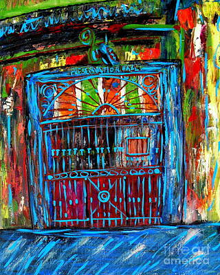 Nola Painting - Preservation Hall by JoAnn Wheeler