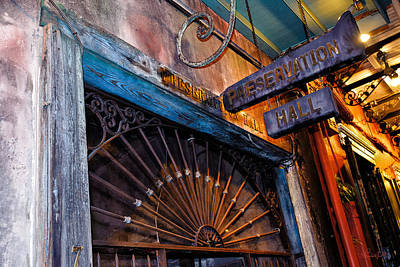 Photograph - Preservation Hall by Renee Sullivan