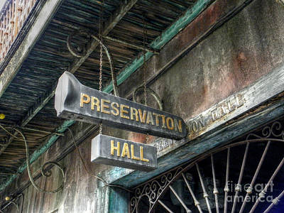 Digital Art - Preservation Hall by Valerie Reeves