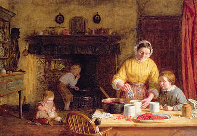 Young Boy Photograph - Preserving Jam by Frederick Daniel Hardy