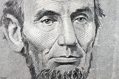 President Mixed Media - President Abraham Lincoln  by MotionAge Designs