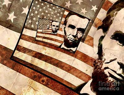 President Abraham Lincoln Art Print by Phil Perkins