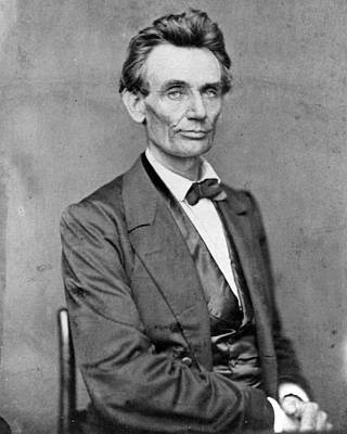 Slaves Photograph - President Abraham Lincoln by Retro Images Archive