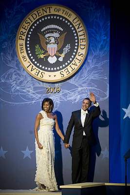 Washington D.c Digital Art - President And Michelle Obama by had J McNeeley