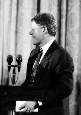 Photograph - President Clinton by Errol Wilson