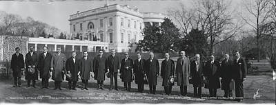 President Coolidge White House Art Print