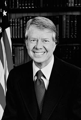 President Jimmy Carter  Art Print