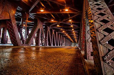 Roosevelt Bridge Photograph - President Roosevelt Bridge by Mike Burgquist