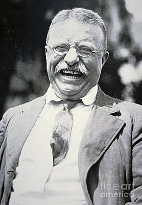 Republican Photograph - President Theodore Roosevelt by American Photographer