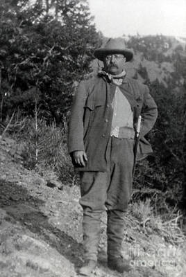 Photograph - President Theodore Roosevelt by NPS Photo