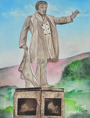 William Mckinley Painting - President William Mckinley Statue by Sally Rice