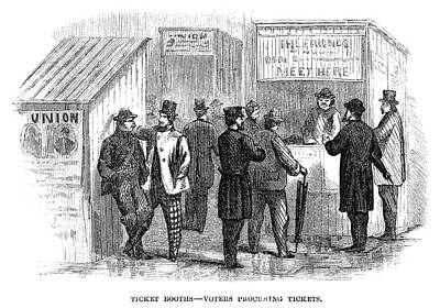 Presidential Election, 1864 Art Print