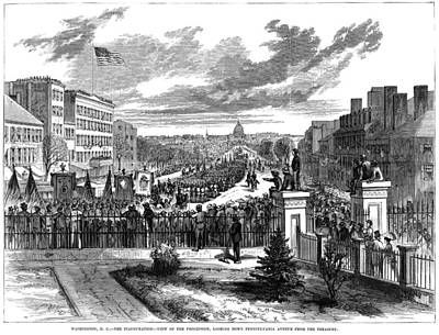 Inauguration Painting - Presidential Inauguration, 1873 by Granger