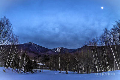 Photograph - Presidential Range Franconia Notch Nh Surreal by Glenn Gordon