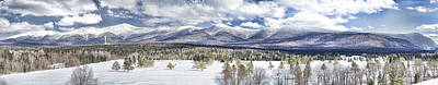 Photograph - Presidential Range New Hampshire by Natalie Rotman Cote
