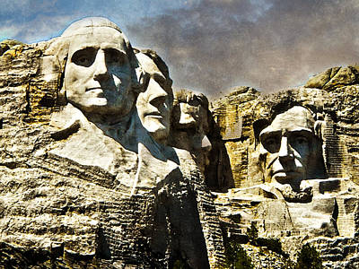 Photograph - Presidential Rocks by Judy Hall-Folde