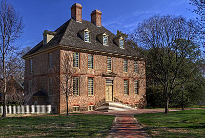 Photograph - President's House College Of William And Mary by Jerry Gammon