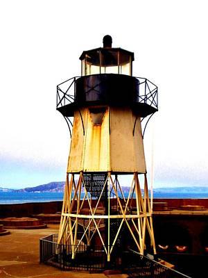 Presidio Lighthouse Art Print by Sharon Costa
