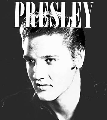 Presley Look Art Print by Gina Dsgn