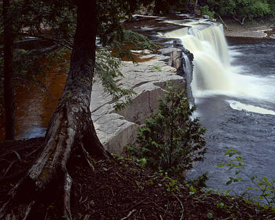 Presque Isle Falls Art Print by Tim Hawkins