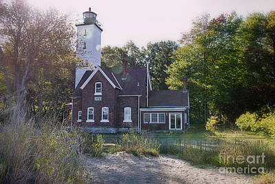 Photograph - Presque Isle Lighthouse by David Arment
