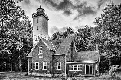 Photograph - Presque Isle Lighthouse by Jim McCain