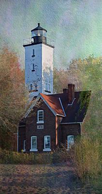 Presque Isle Lighthouse Art Print