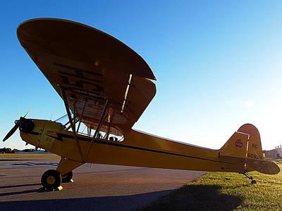 Preston Aviation Piper Cub 003 Art Print
