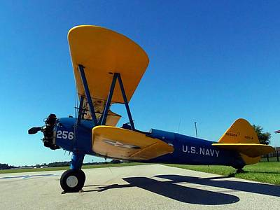 Preston Aviation Stearman 001 Art Print