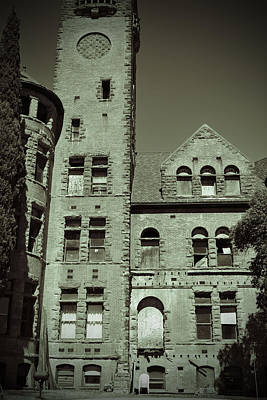 Photograph - Preston Castle Tower by Holly Blunkall